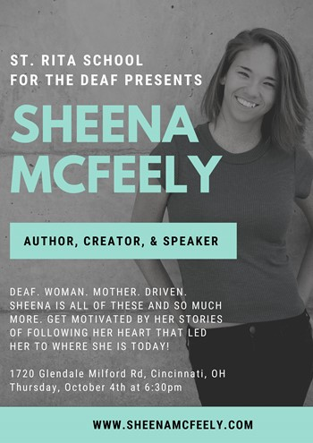 St. Rita School for the Deaf Presents Sheena McFeely!