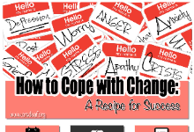 Speaker Series: How to Cope with Change - A Recipe for Success
