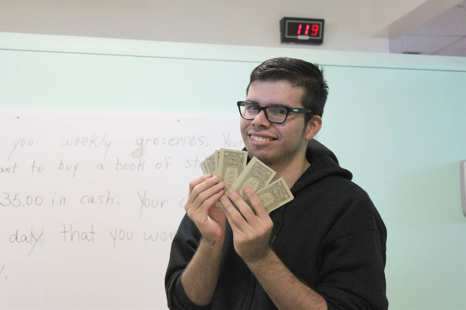 Learning how to manage money